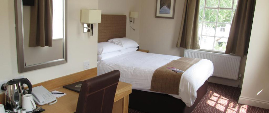 The Mill Hotel - Double Bedroom