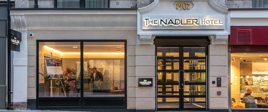 The Nadler Covent Garden - Hotel Entrance