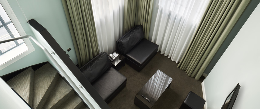 The Nadler Liverpool - Gallery Suite Seating