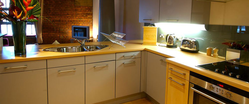 The Place Apartment Hotel Kitchen Facilities