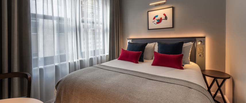 The Resident Covent Garden - Standard Double Bed