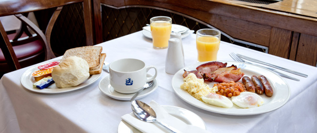 The Tavistock Hotel - English Breakfast