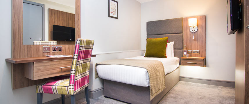 The Yorkshire Hotel - Single Bedroom