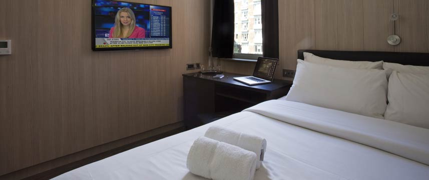 The Z Hotel Piccadilly - Queen Bed Room