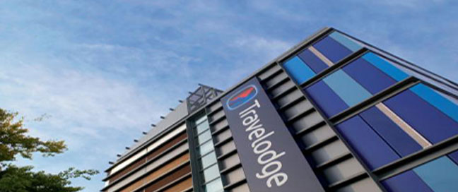 Travelodge City Airport Exterior