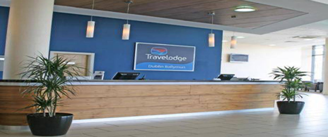 Travelodge Dublin Airport South - Reception