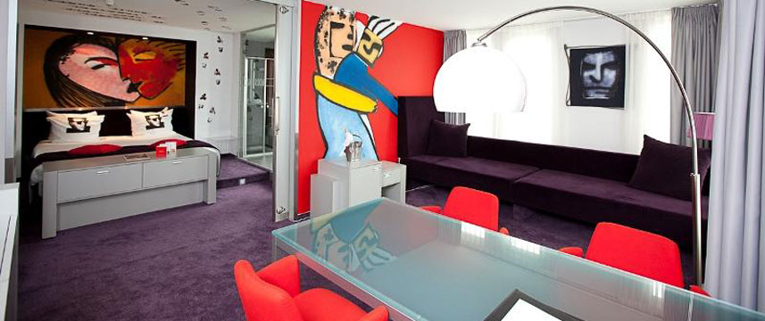 Westcord Art Hotel Amsterdam - Herman Brood Art Suite