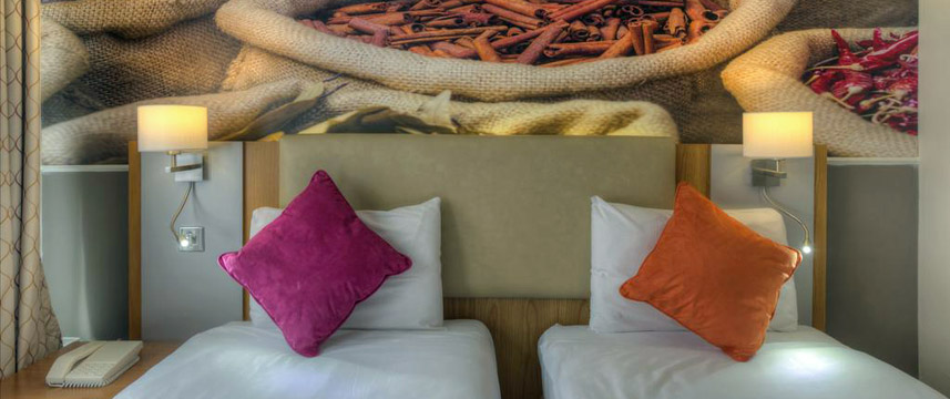 ibis Styles Reading Centre - Hotel Twin Beds