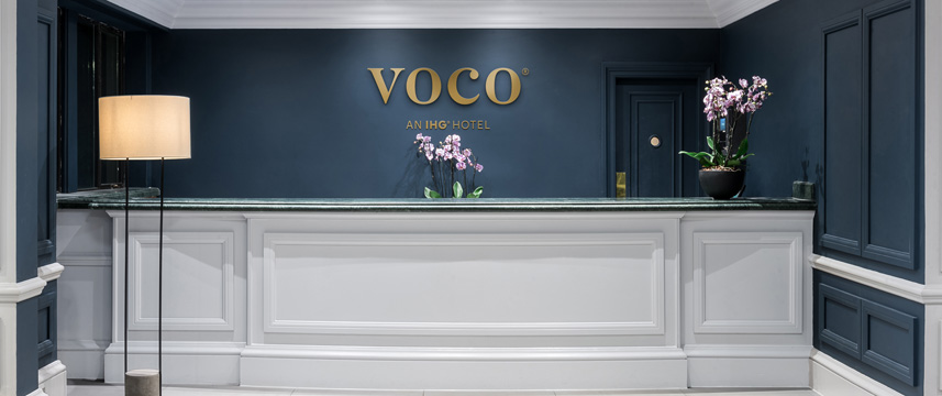 voco St Johns Solihull Reception
